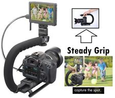 Pro Grip Camera Stabilizing Bracket Handle for Olympus E-PL2 EPL2 E-PL3 EPL3