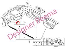 BMW 3' Series E46 Decorative Strip Dashboard Centre