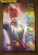 Ready! Hot Toys MMS522 Captain Marvel Deluxe Version 1/6 New