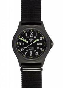 MWC US Spec Military Watch - 165ft Water Resistant on Black Nylon Webbing Strap