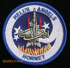 VMFA-321 HELL'S ANGELS HAT UNIFORM PATCH US MARINES SQUADRON MAG MAW GIFT WOW