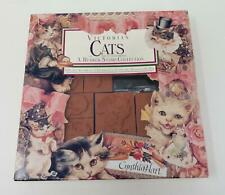 Rubber Stampede Victorian Cats by Cynthia Hart Rubber Stamp Collection
