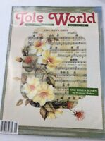 vintage Tole World Magazine Patterns fine art decorative Painting May/June 1992