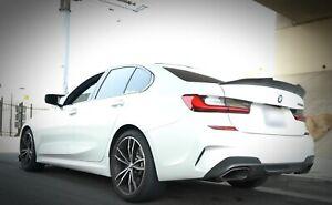 PSM STYLE FULL CARBON FIBER REAR SPOILER FOR BMW 3 SERIES G20 G80 SEDAN 2019 -Up