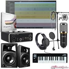 Home Recording Presonus Studio One 3 Bundle Package Midi 32 M-Audio Software