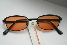New Unisex Move Eyeware Geek Festival Style Fashion Sunglasses UV400 Orange