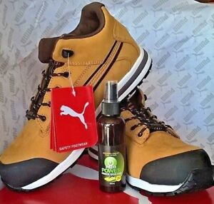 Puma Urban DASH 633187 Safety Toe Cap WorkShoes Boots ULTRA LIGHT WEIGHT PUMA
