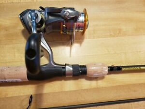 QUANTUM DAIWA FISHING ROD AND REEL COMBO