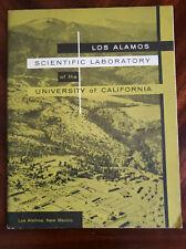 MidCentury 1954 Los Alamos Scientific Lab Atomic Energy U of California booklet