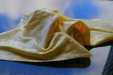 Amarillo limón-Crushed Velvet-Vestido/artesanía/Teatro Tela - 130cm Ancho