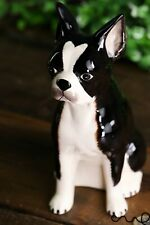 Ceramic French Bulldog Moneybox Animal Piggy Bank Figurine Dog Gift Home Decor