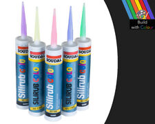 Anthracite Colour Silicone Sealant Soudal 310ml RAL 7016 Indoor & Outdoor use