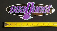 vintage sea quest 1990s Scuba Diving sticker - Padi