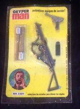 GEYPERMAN ACTION MAN BLISTER REF 7309 LUGER METRALLETA GRANADAS SIN USAR 1975