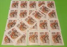 Topps Star Wars Die letzten Jedi Ritter Sticker - 25 Stickertüten