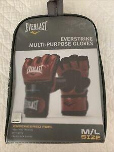 Everlast Everstrike Multi-Purpose Gloves - RED M/L