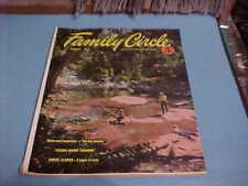 AUGUST 1953 FAMILY CIRCLE MAGAZINE GREAT 50S STYLES