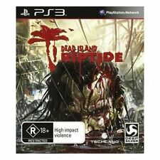 SONY PLAYSTATION 3 PS3 DEAD ISLAND RIPTIDE - EXCELLENT CONDITION FREE POST