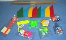8 TOYS/GIFTS/GAMES/FILLERS + HATS, SNAPS & JOKES TO MAKE YOUR OWN XMAS CRACKERS