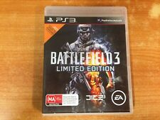 PS3 Playstation 3 Game - Battlefield 3 Limited Edition - With Instructions