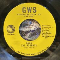 "rare miami funk crossover soul 7"" CAL ROBERTS Mama Together Again ♫ Mp3 GWS NM"