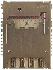 SD SIM Konnektor Karten Leser Memory Card Reader Connector LG G4 Stylus