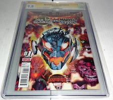 Age of Ultron vs Marvel Zombies #1 CGC SS 9.8 Signature Autograph STAN LEE Comic
