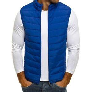 2020 Fashion Mens Cotton Vest Sleeveless Jacket Autumn Thermal Soft Vests
