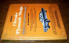 1964 1965 1966 1967 1968 1969 1970 1971 Plymouth Dodge Chrysler Repair Manual