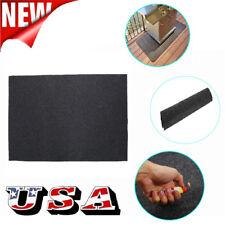 124x75cm BBQ Gas Grill Mat Pad Floor Protective Fire Resistant Rug Splatter US