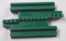 2000's Fisher Price GeoTrax Replacement Part-Green Short Straight Track