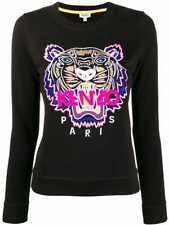 Kenzo Women's Black Pink Tiger Sweatshirt Size S $349