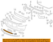 Infiniti NISSAN OEM 14-15 QX60 Front Bumper-Lower Bottom Grille Grill 620743JA0A