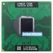 Intel Core T2250 1.73G 533 2MB SL9DV SL9JJ Socket M CPU LF80539GE0302M