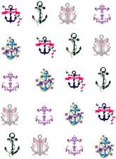Fun Anchors Waterslide Nail Decals/Nail Art