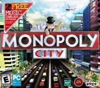 Monopoly City - Create Dream City Top Property Developer Board Game PC NEW