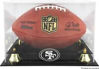 San Francisco 49ers Team Logo Football Display Case - Fanatics