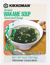 Kikkoman Instant Wakame Seaweed Soup 0.63 oz (18g) Made in Japan