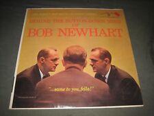 "1961 ""Behind the Button Down Mind of Bob Newhart"" LP - Warner Bros (W-1417) EX"