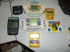 Vintage 1987 - 1999 Electronic Handheld Game Lot