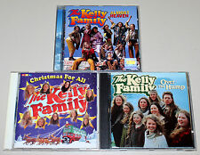 CD SAMMLUNG THE KELLY FAMILY OVER THE HUMP ALMOST HEAVEN christmas FOR ALL