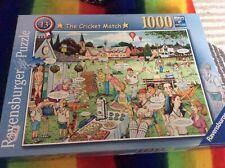 ravensburger 1000 piece jigsaw puzzle The Cricket Match