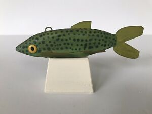Vintage Ice Fishing, Spearing Decoy, 1950's.