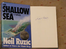 *Signed* NEIL P. RUZIC 'The Shallow Sea' HB 1st VGC Bahamas Where the Winds Slee