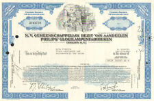 N.V. Phillips > 1972 Netherlands Eindhoven stock certificate