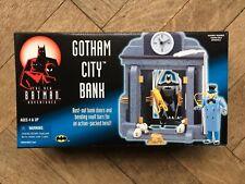NEW BATMAN ADVENTURES : GOTHAM CITY BANK Playset,  1997, MIMB, Unused, RARE