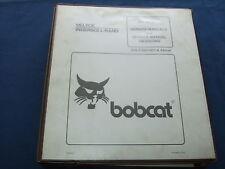 BOBCAT 553 BICS SKID STEER LOADER SERVICE SHOP REPAIR BOOK MANUAL OEM ORIGINAL