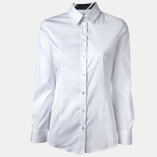 Burberry camicia classic shirt donna woman 42 size 10uk