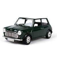 1:24 Scale 1969 Mini Cooper Car Diecast Model Bus Model Maisto Toys Gifts Green