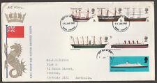 UK - 1969 - BRITISH SHIPS - FDC - Addressed